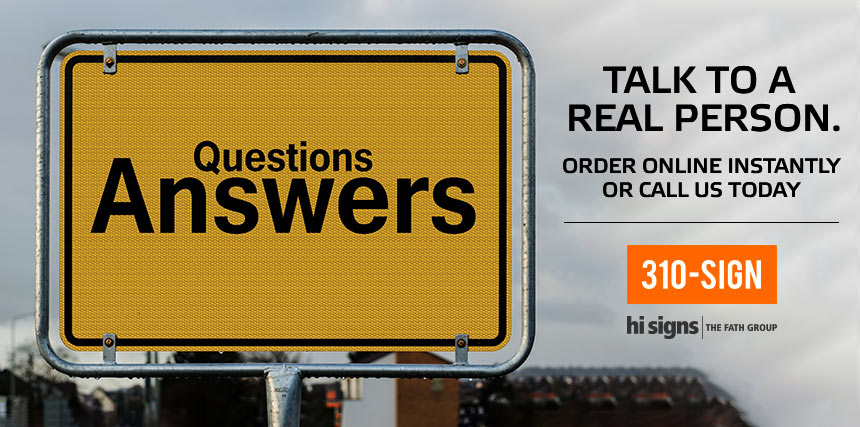 Questions - Answers 310-SIGN