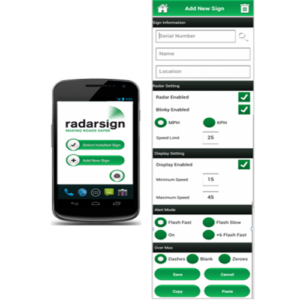 radar sign android app